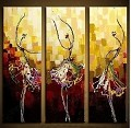 Modern Abstract Art Oil Painting STRETCHED READY TO HANG NY-4278