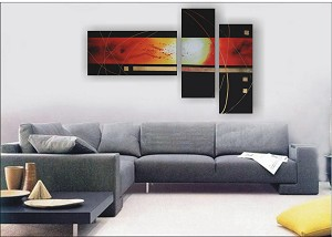 Modern Abstract Art Oil Painting STRETCHED READY TO HANG OPZ-3-12