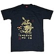 Chinese Culture T-shirt DRAGON (dark blue)