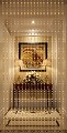 Beautiful Home Decor Acrylic Beaded Curtain - Golden Heart