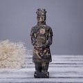 Antique Reproduction Qin Dynasty Terra cotta Warrior Collectible Statuette Small 6
